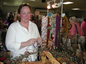 At the 100th CT Sheep and Wool Festival we met the nicest people. Knitters, spinners, lacemakers.
