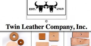 Twin Leather Company in Brockton, Mass. is family owned and operated - parts, laces, animals shapes and much more.