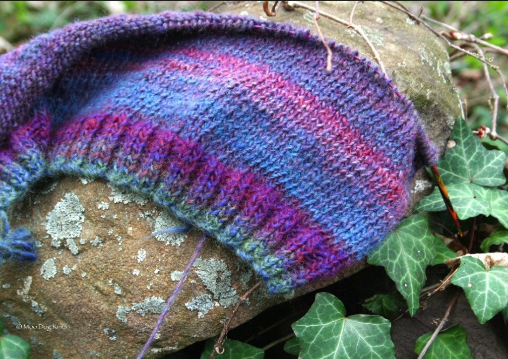 Yarn close up.