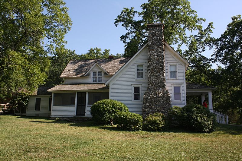 The farmhouse of Laura Ingalls Wilder.