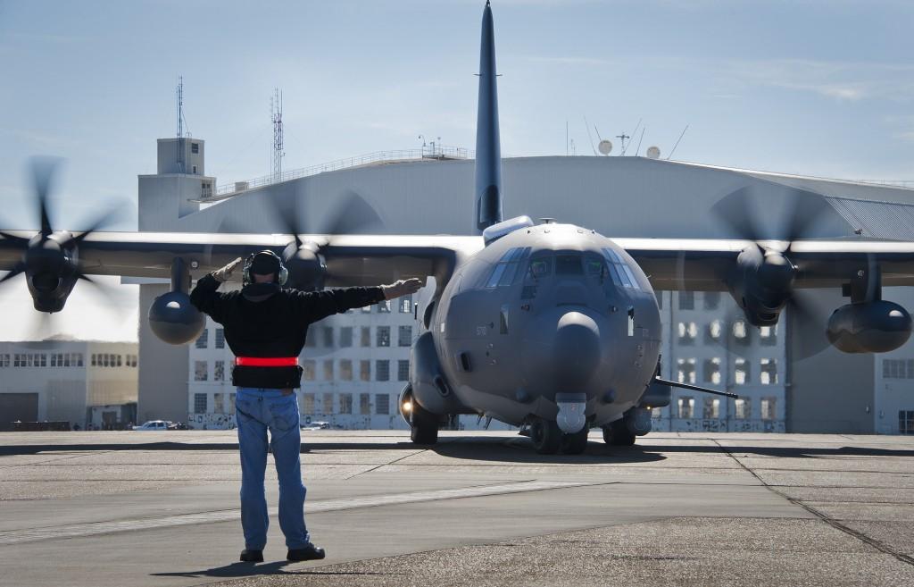 USAF flightline test.