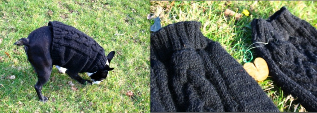 On and two variations. © Moo Dog Knits